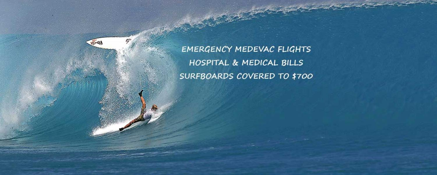 bali surf travel insurance