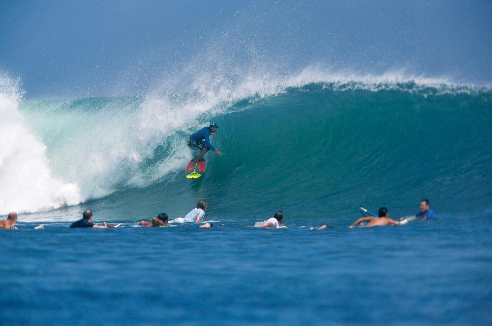 Tawan, Kuta Reef. Photo Thanks to Jim Bristow, Baliwaves www.baliwaves.com