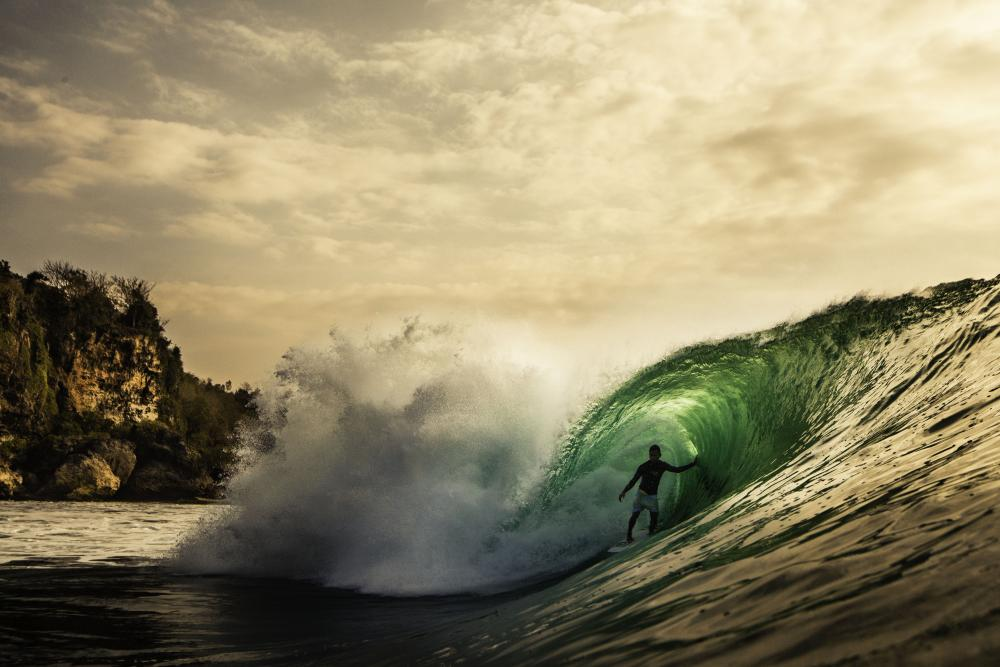 Mega Semadhi, The High Priest of Uluwatu. Photo: Tommy Schultz