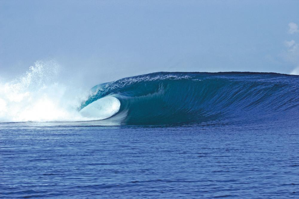 Speed Reef Grajagan in all its glory. John Hepler's epic photo thanks to World Surfaris - www.worldsurfaris.com