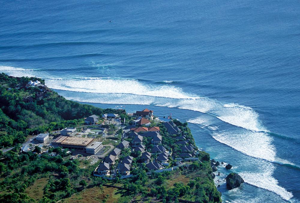 Uluwatu from the air